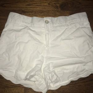 White lauren James shorts